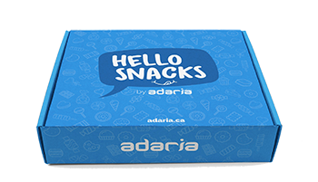 Hello Snacks Snack Box, Closed